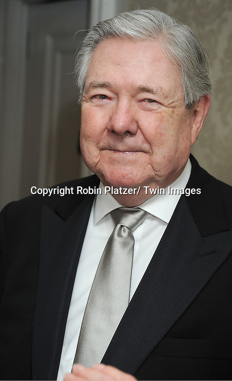 Frank Bennack attending The Musuem of The Moving Image Gala honoring Brian Williams of NBC News and Kenneth Lowe of Scripps Networks Interactive at The St Regis Hotel in New York City on June 2, 2011.