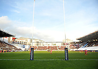 A general view of the Stade Mayol during the match. European Rugby Champions Cup match, between RC Toulon and Bath Rugby on January 10, 2016 at the Stade Mayol in Toulon, France. Photo by: Patrick Khachfe / Onside Images