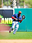 4 March 2010: Washington Nationals' outfielder Elijah Dukes in action during the Nationals-Astros Grapefruit League Opening game at Osceola County Stadium in Kissimmee, Florida. The Houston Astros defeated the Nationals split-squad 15-5 in Spring Training action. Mandatory Credit: Ed Wolfstein Photo