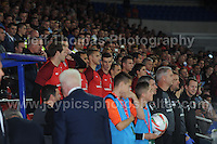 The Welsh bench including Gareth Bale during the Wales v Serbia FIFA World Cup 2014 Qualifier match at Cardiff City Stadium, Cardiff, Wales -Tuesday 10th Sept 2014. All images are the copyright of Jeff Thomas Photography-07837 386244-www.jaypics.photoshelter.com