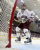 Melissa Bizzari (BC - 4) - The Boston College Eagles and the visiting University of New Hampshire Wildcats played to a scoreless tie in BC's senior game on Saturday, February 19, 2011, at Conte Forum in Chestnut Hill, Massachusetts.