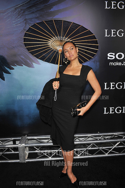 """Tia Carrere at the world premiere of """"Legion"""" at the Cinerama Dome, Hollywood..January 21, 2010  Los Angeles, CA.Picture: Paul Smith / Featureflash"""