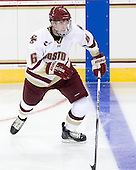 Patrick Wey (BC - 6) - The Boston College Eagles defeated the visiting University of Toronto Varsity Blues 8-0 in an exhibition game on Sunday afternoon, October 3, 2010, at Conte Forum in Chestnut Hill, MA.
