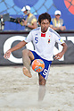 Teruki Tabata (JPN), SEPTEMBER 02, 2011 - Beach Soccer : FIFA Beach Soccer World Cup Ravenna-Italy 2011 Group D match between Japan 2-3 Mexico at Stadio del Mare, Marina di Ravenna, Italy, (Photo by Enrico Calderoni/AFLO SPORT) [0391]