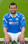 St Johnstone FC...Season 2011-12.Callum Davidson.Picture by Graeme Hart..Copyright Perthshire Picture Agency.Tel: 01738 623350  Mobile: 07990 594431