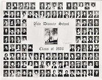 1984 Yale Divinity School Senior Portrait Class Group Photograph