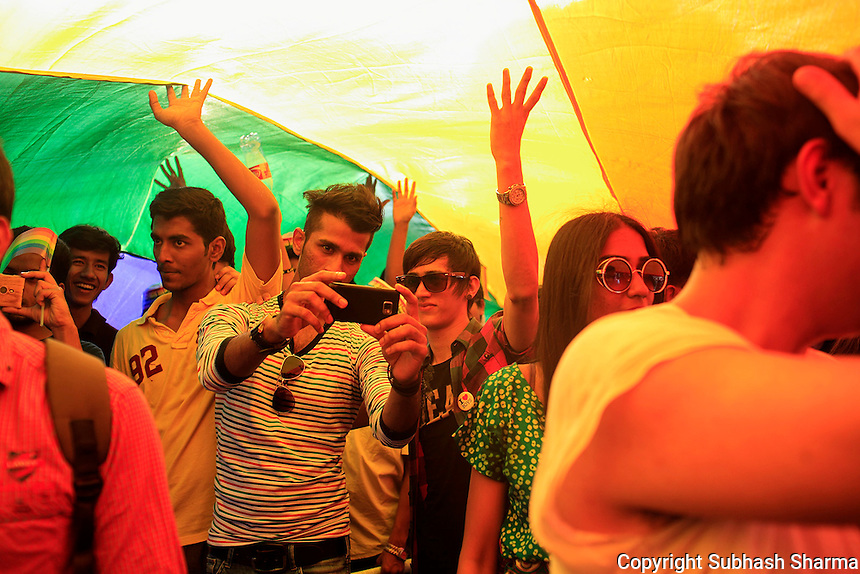 LGBT - Queer Pride March in Mumbai ,India