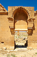 "Pictures of the the ruins of the 8th century University of  Harran, south west Anatolia, Turkey.  Harran was a major ancient city in Upper Mesopotamia whose site is near the modern village of Altınbaşak, Turkey, 24 miles (44 kilometers) southeast of Şanlıurfa. The location is in a district of Şanlıurfa Province that is also named ""Harran"". Harran is famous for its traditional 'beehive' adobe houses, constructed entirely without wood. The design of these makes them cool inside. 48"