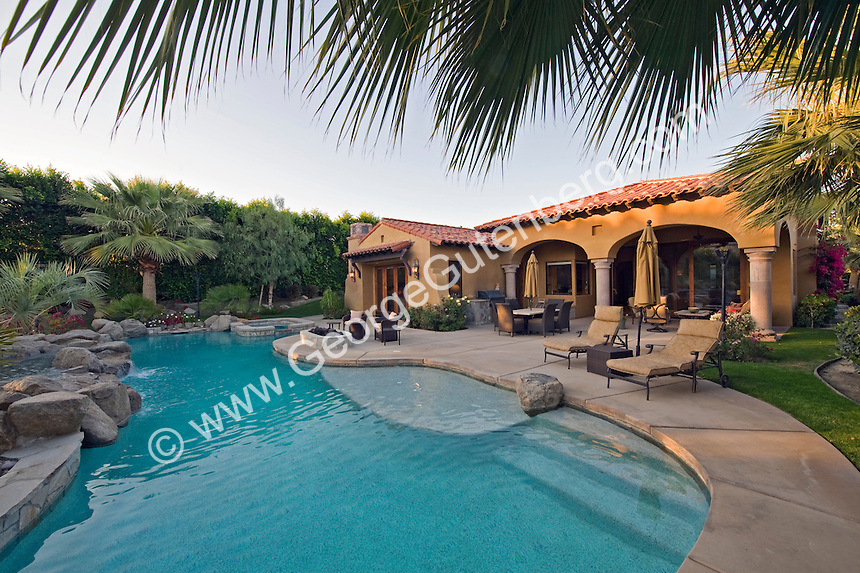 Stock Photo Of Residential Swimming Pool And Patio Stock Photography Archive S P A
