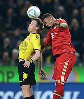 FUSSBALL   1. BUNDESLIGA   SAISON 2011/2012   30. SPIELTAG Borussia Dortmund - FC Bayern Muenchen            11.04.2012 Kevin Grosskreutz (li, Borussia Dortmund)  gegen Jerome Boateng (re, FC Bayern Muenchen)