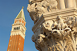 Wide angle Photo Of Saint Mark's Square - Venice Italy.