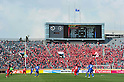 General view, APRIL 19, 2011 - Football : AFC Champions League 2011 Group H, between Kashima Antlers 1-1 Suwon Samsung Bluewings at National Stadium, Tokyo, Japan. The game started at 2pm on Tuesday afternoon in Tokyo as Kashima are unable to use their home stadium as a result of the earthquake and tsunami that hit the east coast of Japan on March 11th 2011 and due to the ongoing nuclear crisis in Fukushima which has reduced the electricity supply to the region meaning that floodlit night games cannot be justified. (Photo by Jun Tsukida/AFLO SPORT) [0003]