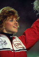 Ottawa Rough Riders Cheerleaders 1986. Photo F. Scott Grant