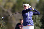 15 April 2016: Notre Dame's Emma Albrecht. The First Round of the Atlantic Coast Conference's Womens Golf Tournament was held at Sedgefield Country Club in Greensboro, North Carolina.