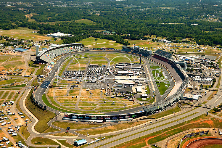 Aerial Photography Of Lowe 39 S Motor Speedway In Concord Nc