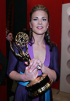 28 April 2006: Actress Gina Tognoni of Guiding Light behind the scenes in the STAR greenroom at the 33rd Annual Daytime Emmy Awards at the Kodak Theatre at Hollywood and Highland, CA. Contact photographer for usage availability.