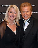 Washington, D.C. - April 21, 2007 -- MSNBC Anchor Rita Cosby and Tomaczek Bednarek attend the Bloomberg News Party at the Embassy of Costa Rica following the 2007 White House Correspondents Association dinner at the Washington Hilton in Washington, D.C. on Saturday evening, April 21, 2007..Credit: Ron Sachs / CNP                                                                (NOTE: NO NEW YORK OR NEW JERSEY NEWSPAPERS OR ANY NEWSPAPER WITHIN A 75 MILE RADIUS OF NEW YORK CITY)