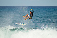 North Shore/Oahu/Hawaii (Friday, November 25, 2011) Cory Lopez (USA).  – Free surfing session at Rocky Point in 3'-4' side shore trades. . Photo: joliphotos.com