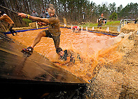 Athletes competed in the 2013 Carolinas Spartan Race, held March 23-24, 2013 at the U.S. National Whitewater Center (USNWC) in Charlotte NC. Spartan Races are extreme obstacle course races held around the nation to give ultra athletes the chance to test their resilience, strength and stamina in an extreme -- and extremely muddy -- setting.