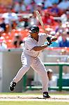 5 September 2005: Carlos Delgado, first baseman for the Florida Marlins, at bat during a game against the Washington Nationals. The Nationals defeated the Marlins 5-2 at RFK Stadium in Washington, DC. Mandatory Photo Credit: Ed Wolfstein.