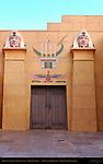Grauman's Egyptian Theater 1922, Main Entrance, Hollywood Boulevard, Hollywood, California