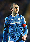 St Johnstone v Dundee....27.11.15  SPFL  McDiarmid Park, Perth<br /> Dave Mackay<br /> Picture by Graeme Hart.<br /> Copyright Perthshire Picture Agency<br /> Tel: 01738 623350  Mobile: 07990 594431