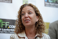 FORT LAUDERDALE, FL - NOVEMBER 11: Debbie Wasserman Schultz attends The 29th Annual Fort Lauderdale International Film Festival at Cinema Paradiso to highlight Post Traumatic Stress Disorder on Veteran'sDay on November 11, 2014 in Fort Lauderdale, Florida. Credit: mpi04/MediaPunch