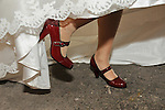 Taiwanese Wedding -- Bride's shoes.