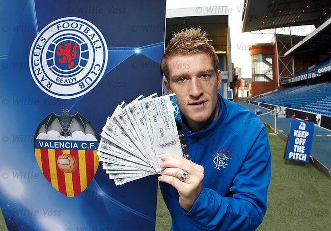 Steven Davis in Champions League ticket promotion