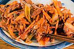 Korean Pork Bulgogi with rice. ©2016. Jim Bryant Photo. All Rights Reserved
