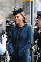 Kate, Duchess Of Cambridge joins Queen & Duke at Baker Street Station - London