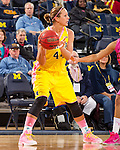 The University of Michigan women's basketball team beat Illinois, 72-69, at Crisler Center in Ann Arbor, Mich., on February 7, 2013.