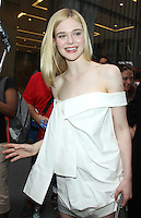 NEW YORK, NY-June 23: Elle Fanning to talk about the new her new movie the Neon Demon in New York. NY June 23, 2016. Credit:RW/MediaPunch