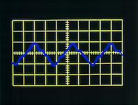 OSCILLOSCOPE TRACE: RECORDER (A440)<br />