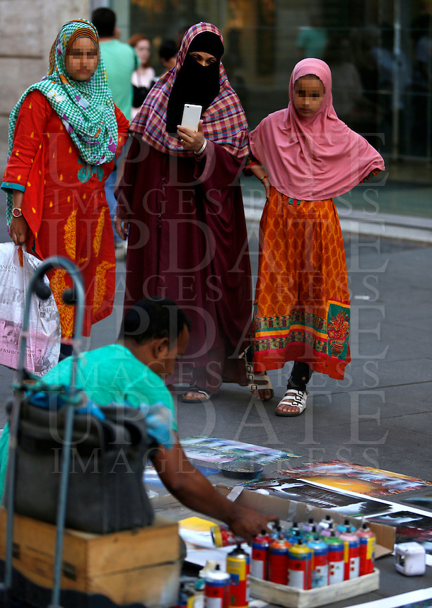 Scene in Rome, 25 June 2014.<br /> UPDATE IMAGES PRESS/Riccardo De Luca