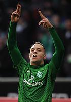 FUSSBALL   1. BUNDESLIGA   SAISON 2011/2012   21. SPIELTAG Werder Bremen - 1899 Hoffenheim                        11.02.2012 Marko Arnautovic (SV Werder Bremen)