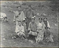 BNPS.co.uk (01202 558833)<br /> Pic: Bonhams/BNPS<br /> <br /> Fascinating 112 year-old photographs of Bhutan taken decades before the remote country in the Himalayas became open to outsiders have been unearthed.<br /> <br /> The images provide an unprecedented insight into the isolated kingdom nestled between India and China in the heart of the Himalayas at the beginning of the 20th century. <br /> <br /> The country was almost completely cut off for centuries as it sought to protect its ancient traditions and has only become more accessible to visitors since the 1970s. Such has been their desire to protect their heritage they didn't have TV until 1999.<br /> <br /> The photographs are believed to have belonged to the family of someone who took part in the expedition to Bhutan in 1905 and have since been passed to a private collector.<br /> <br /> The present owner has now decided to submit them for auction and they are tipped to sell for &pound;15,000.