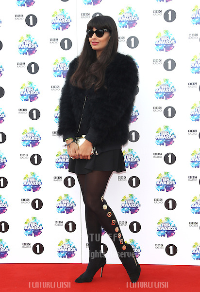 Jameela Jamil arriving for the BBC Radio 1 Teen Awards held at Wembley Arena, London. 03/112013 Picture by: Henry Harris / Featureflash