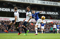 Everton's Kevin Mirallas gets in a second half shot<br /> <br /> Photographer Rob Newell/CameraSport<br /> <br /> The Premier League - Tottenham Hotspur v Everton - Sunday March 5th 2017 - White Hart Lane - London<br /> <br /> World Copyright &copy; 2017 CameraSport. All rights reserved. 43 Linden Ave. Countesthorpe. Leicester. England. LE8 5PG - Tel: +44 (0) 116 277 4147 - admin@camerasport.com - www.camerasport.com