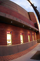 13 October 2006:  Exterior over view of the Box Office Ticket window at the Galen Center. USC Trojans Women's Volleyball team plays their second home game in a new facility across the street from their school. The Galen Center is the new home for USC Volleyball, Basketball, Concerts and Special Events.<br />