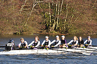 058 .RDU-Brooks .W.SEN.8+ .Reading Univ BC. Wallingford Head of the River. Sunday 27 November 2011. 4250 metres upstream on the Thames from Moulsford railway bridge to Oxford Universitiy's Fleming Boathouse in Wallingford. Event run by Wallingford Rowing Club..