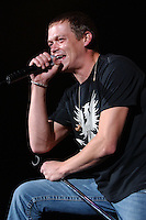WEST PALM, FL - DECEMBER 08: Brad Arnold of 3 Doors Down performs at The Sound Advice Ampetheater.<br /> December 8, 2005 in West Palm , Florida. Credit: mpi04/MediaPunch