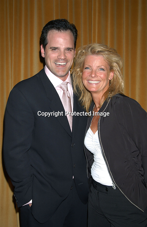 Michael Park & Ellen Dolan at the 30th Annual Creative Craft Daytime EmmyAwards on May 10,2003 at the Marriott.Marquis in NYC..Photo by Robin Platzer, Twin Images.
