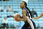14 November 2012: Georgetown's Samisha Powell. The University of North Carolina Tar Heels played the Georgetown University Hoyas at Carmichael Arena in Chapel Hill, North Carolina in an NCAA Division I Women's Basketball game, and a semifinal in the Preseason WNIT. UNC won the game 63-48.