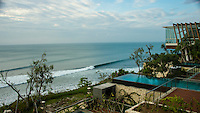 Uluwatu, Bali/Indonesia (Thursday, July 4, 2013) &ndash; The Anantara Resort and Spa at Uluwatu sits on the limestone cliffs and over looks the famous stretch of surfing coast line including spots like Uluwatu, Padang Padang, Impossibles.<br /> Photo: joliphotos.com