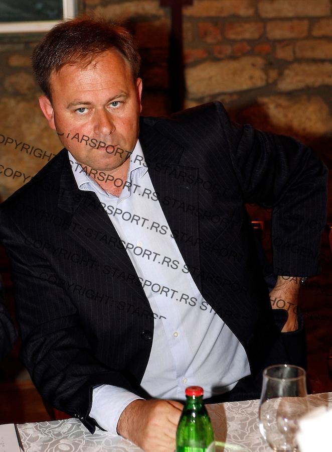 Fudbal, zajednica prvoligasa.Cvetko Ridjosic, direktor FK Vojvodina.Beograd, 12.05..2007..foto: Srdjan Stevanovic