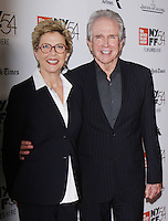 NEW YORK, NY-October 08:Annette Bening, Warren Beatty at NYFF54 Centerpiece Gala presents the World Premiere of 20th Century Women  at Alice Tully Hall in New York.October 08, 2016. Credit:RW/MediaPunch