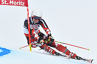 February 17, 2017: Filip ZUBCIC (CRO) competing in the men's giant slalom event at the FIS Alpine World Ski Championships at St Moritz, Switzerland. Photo Sydney Low