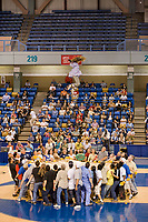 Womens preliminary blanket toss competition at the 2008 World Eskimo Indian Olympics, Fairbanks, Alaska. There are two schools of thought as to why this sport is being done. One is for the simple exhilaration is provides, and the other is for spotting game over the horizon.