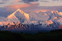 Mount Brooks, Alaska mountain range, Denali National Park, Alaska
